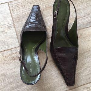 Ann Taylor Dark brown shoes 6.5M